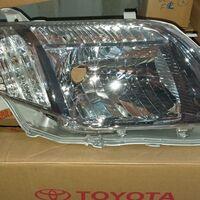 Фара Toyota Corolla Axio/Fielder #ZE14# правая, темный хром
