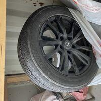 Диски 20ые Lexus LX570 с резиной летней Dunlop