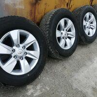 Оригинальные колеса от прадо 150 кузов