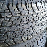 255/70 R15 Цена резины комплектом 5 колёс. Остаток 60%