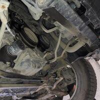 Защита двигателя на Infiniti FX45