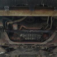 Защита двигателя на Infiniti FX37