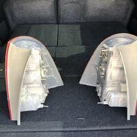 Задние стопы на Toyota Corolla Fielder