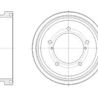 Тормозные барабаны G-brake (TL52W)