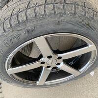 Комплект колес с дисками Vossen хром.