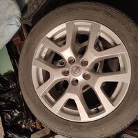"""Штатные 18"""" диски на Nissan X-Trail t31, в отличном состояние."""