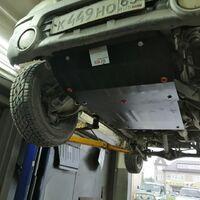 Защита двигателя на Daihatsu Terios Kid