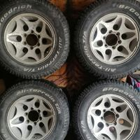 Комплект колёс 5 шт. 245 70 16