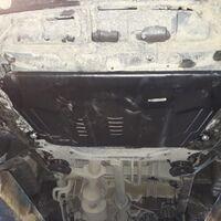 Защита двигателя на Toyota Alphard