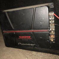 Пассивный саб в комплекте с усилком Pioneer GXT-3706BR