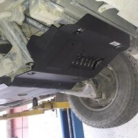 Защита двигателя на Toyota FJ Cruiser