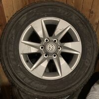 Комплект колес в сборе Прадо