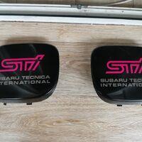 Заглушки в бампер STI
