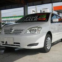 передний бампер Corolla Runx / Toyota Allex NZE124 2002-2004 Оригинал