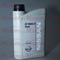 Масло Nissan Matic D трансмиссионное