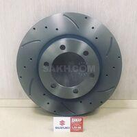 Тормозные диски (перфорированные вентилируемые)