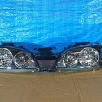 Фара Toyota Caldina #T21# 97-00 год  комплект черный хрусталь стекло