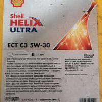Масло Shell Helix Ultra ECT C3 5W-30 синтетическое (209L)