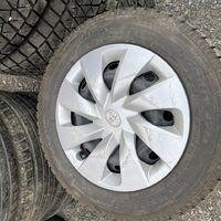 R14 (4-100) комплект штампованных дисков Toyota без пробега по РФ