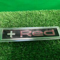 """Эмблема задней двери """"+Red"""" для Toyota Corolla Fielder NZE164 / NKE1"""