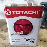 Масло трансмиссионное для АКПП Totachi ATF Type T4