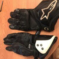 Мото перчатки Alpinestars GP Pro 2013. Размеры: M/9