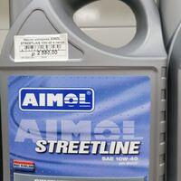 Продам масло моторное aimol streetline 10w-40 4 литра