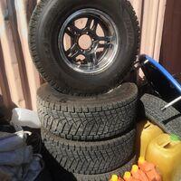 Комплект колес Япония Bridgestone Blizzak