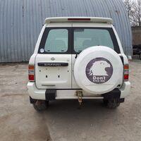 Бампер задний Nissan Patrol 61, 1997-