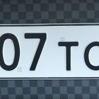 Гос номер 007