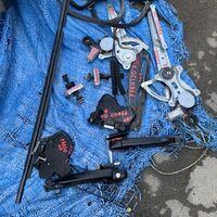 Стеклоподъемники, ручки и резинки дверей 120-121 кузов