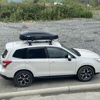 Багажник поперечины на Subaru Forester