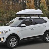 Багажник поперечины на Hyundai Creta