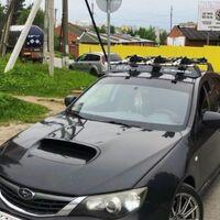 Обтекатель на крышу автомобиля