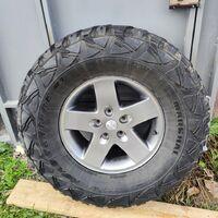 Продам 4 колеса Marshal Road Venture MT на дисках Jeep Wrangler