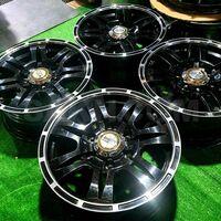 Диски R16 Hot Stuff (black) 6х139.7 (+26) из Японии. Без пробега по РФ