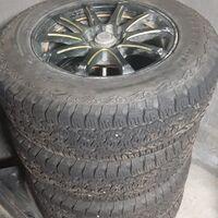 Продам шины с дисками R16 215/70 Matador MP72 Izzarda A/T2 100T