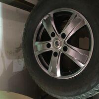 Продам комплект колёс 285/60R18