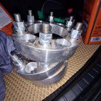 Проставки на колёса шириной 3.5 см, 4 шт.