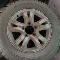 Продам колесо в сборе штатные от  LC200