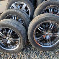 Летний комплект колес с японской резиной
