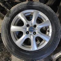 Продам диски с резиной 195/65/15 Dunlop graspic ds3