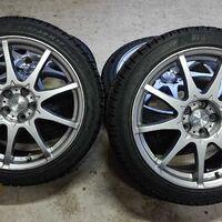 новое поступление  колёс с дисками R17,18 5-100  для легковых авто