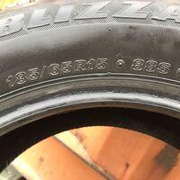 продам зимние шины, Bridgestone, 185/65R15 состояние отличное