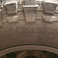 Резина грязевая comfoser r16 225x75LT
