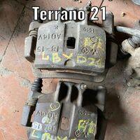Суппорт тормозной Nissan Terrano 21