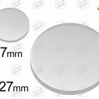 Пластина для датчика дождя круглая (D-27mm)