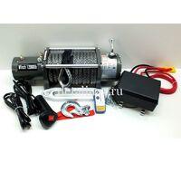 Лебедка электрическая 12VElectric Winch 12000lbs/5443 кг чугунный клюз