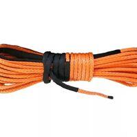 Трос для лебедки синтетический 10мм*28 метров (оранжевый) 3193
