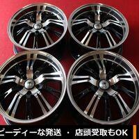 Диски R18 Spirit Racing LW (black, полка) 5x114.3 (+38) J7.5 из Японии